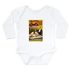 barnum and bailey Long Sleeve Infant Bodysuit