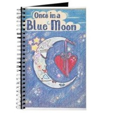 Cute Once blue moon Journal