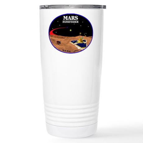 Mars Pathfinder Stainless Steel Travel Mug