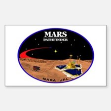 Mars Pathfinder Sticker (Rectangle)