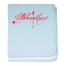 Bloodlust Logo baby blanket