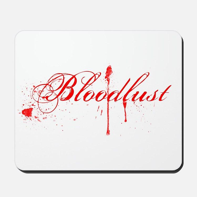 Bloodlust Logo Mousepad
