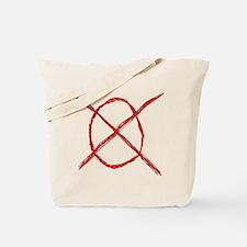 Slenderman Operator Symbol Tote Bag