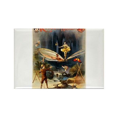 vaudeville poster Rectangle Magnet (100 pack)