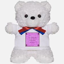 She is fierce Teddy Bear