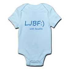 Let's just be friends with benefits Infant Bodysui