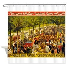 barnum and bailey Shower Curtain