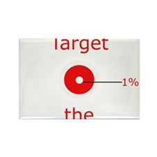 Target the One Percent Rectangle Magnet