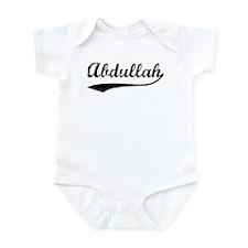 Vintage: Abdullah Infant Bodysuit