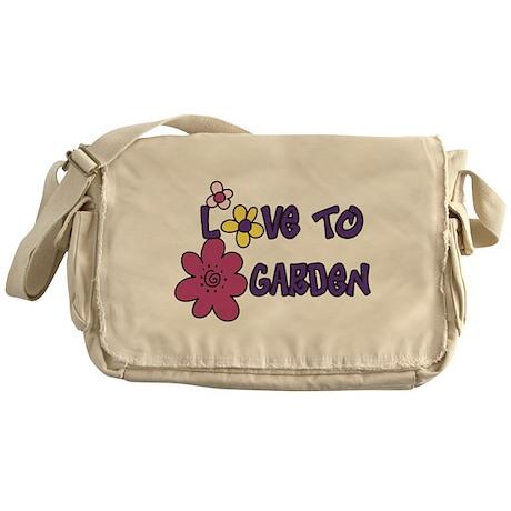 Love To Garden Messenger Bag