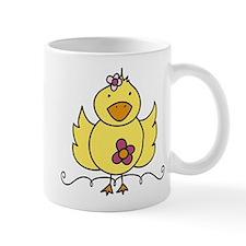 Floral Ducky Mug