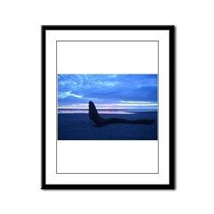 Mermaid Framed Panel Print