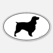 Field Spaniel Sticker (Oval)