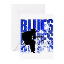 blues guitar Greeting Cards (Pk of 20)