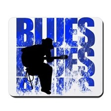 blues guitar Mousepad