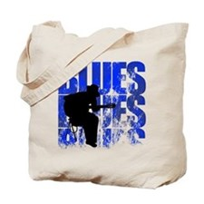 blues guitar Tote Bag