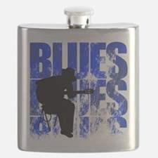 blues guitar Flask