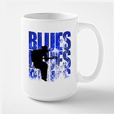 blues guitar Ceramic Mugs