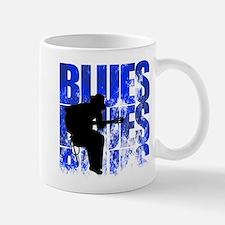 blues guitar Small Mugs
