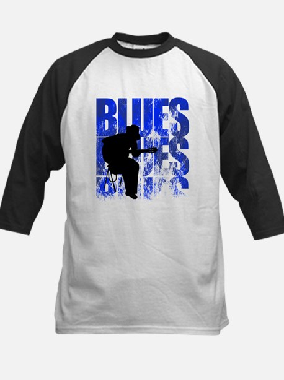 blues guitar Kids Baseball Jersey