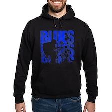 blues guitar Hoodie