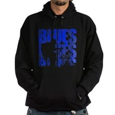 blues guitar Hoody