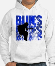 blues guitar Jumper Hoody