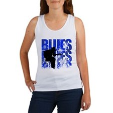 blues guitar Women's Tank Top