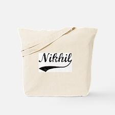 Vintage: Nikhil Tote Bag