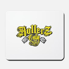logo rollerz only Mousepad