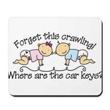 Forget This Crawling Mousepad