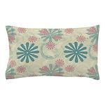 Swirl Flower Pillow Case