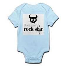 Uncle's Little Rock Star Baby Body Suit