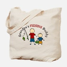 Fishing Buddy Tote Bag