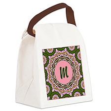 Vidalia Rose Monogram Canvas Lunch Bag