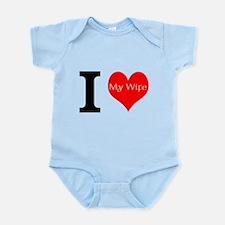 I Love My Wife Infant Bodysuit