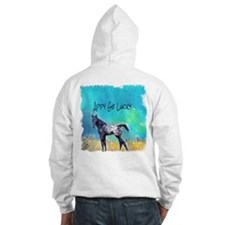 Appy Go Lucky Horse Hoodie