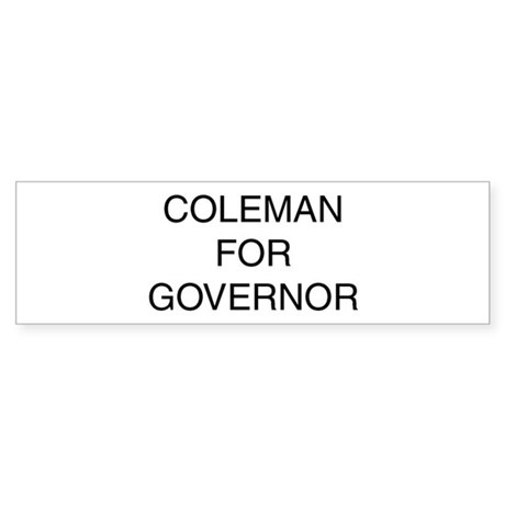 Bump Coleman into office!