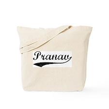 Vintage: Pranav Tote Bag