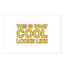 This is what COOL looks like Postcards (Package of