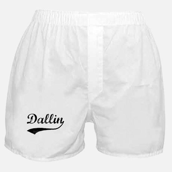 Vintage: Dallin Boxer Shorts