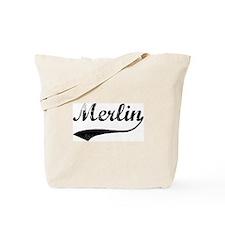 Vintage: Merlin Tote Bag
