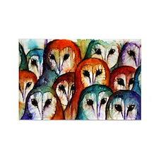 Owl Audience ~ Fridge Magnet