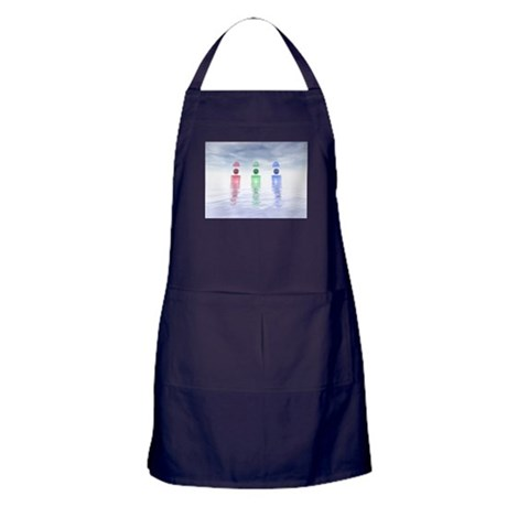 Surreal Glass Structures Apron (dark)