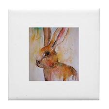 Solo Hare ~ Tile Coaster