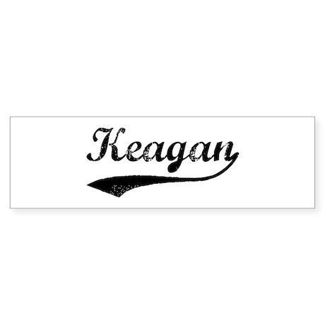 Vintage: Keagan Bumper Sticker