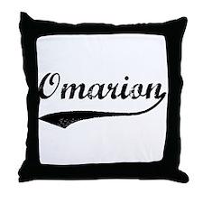 Vintage: Omarion Throw Pillow