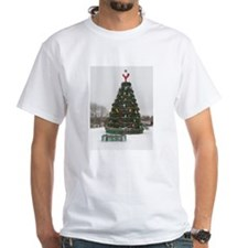 Lobster Trap & Bowie Christmas Tree Shirt