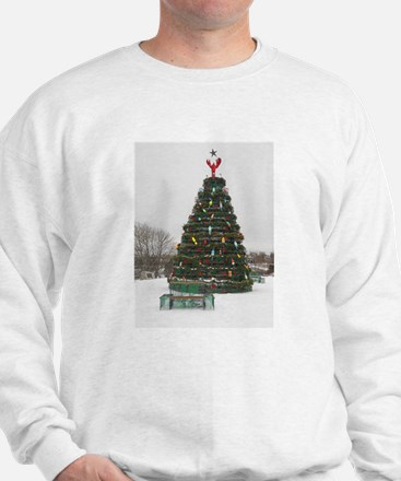 Lobster Trap & Bowie Christmas Tree Jumper