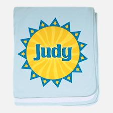 Judy Sunburst baby blanket